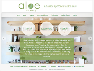 Aloe Skin and Body image