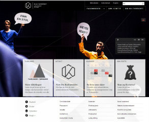 Web site for the Norwegian Culture Council image