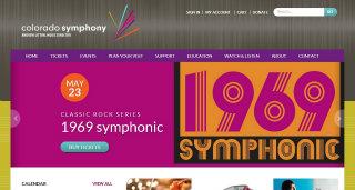 Colorado Symphony Website image