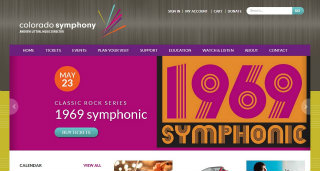 Colorado Symphony Website image