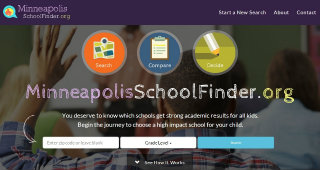 Minneapolis School Finder image