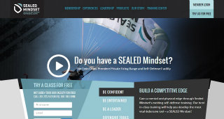 Sealed Mindset Website Redesign image