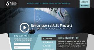 Sealed Mindset Website Redesign image