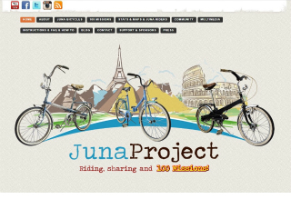 JunaProject - Riding, sharing and 100 Missions image