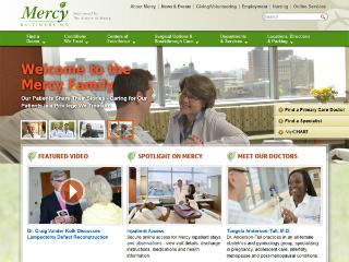 Mercy Medical Center Website image