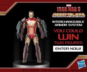 Hasbro Iron Man 3 Assemblers image
