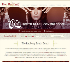 The Redbury South Beach Website image
