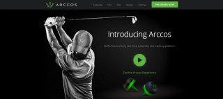 Arccos Golf Website  image