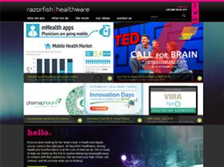 www.razorfishhealthware.com New Corporate Website image