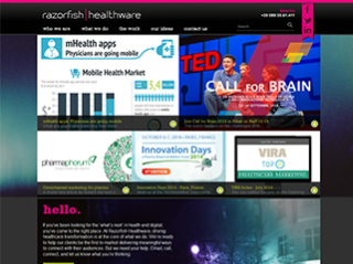 www.razorfishhealthware.com New Corporate Website image