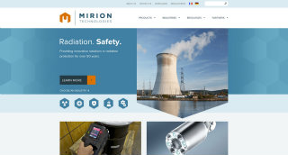 Mirion Technologies Redesign image