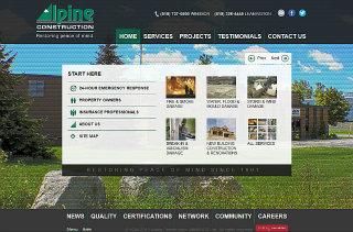 Alpine Construction image
