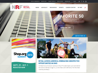 Redesign/Relaunch of NRF.com image