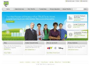 TRUSTe Website Redesign image