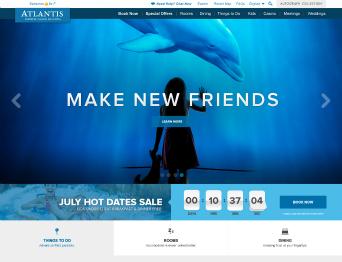 AtlantisBahamas.com  Website image
