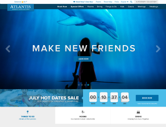 AtlantisBahamas.com  Website image