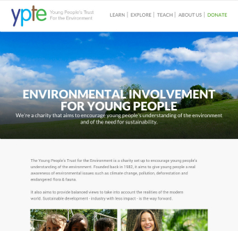 The Young People's Trust for the Environment image