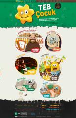 TEB Junior Web Site image
