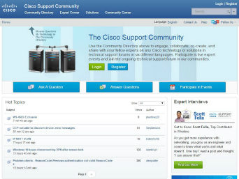 Cisco Support Community  image