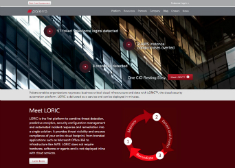Palerra Website image