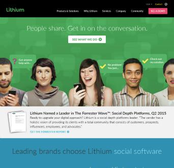 Lithium Website  image