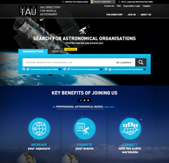 IAU Directory for World Astronomy image