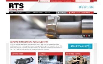 RTS Cutting Tools, Inc Website image