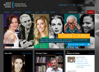 Jewish Women's Archive image