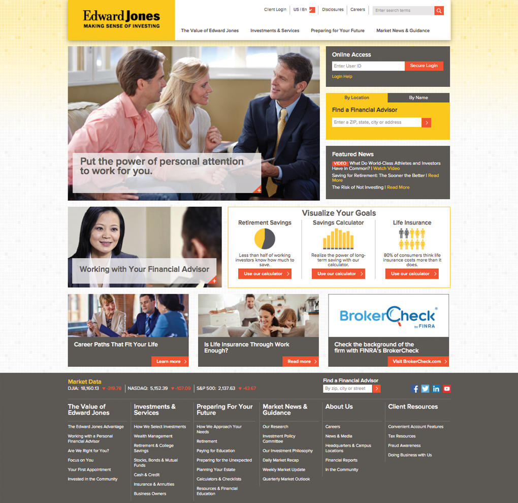 Edward Jones Website