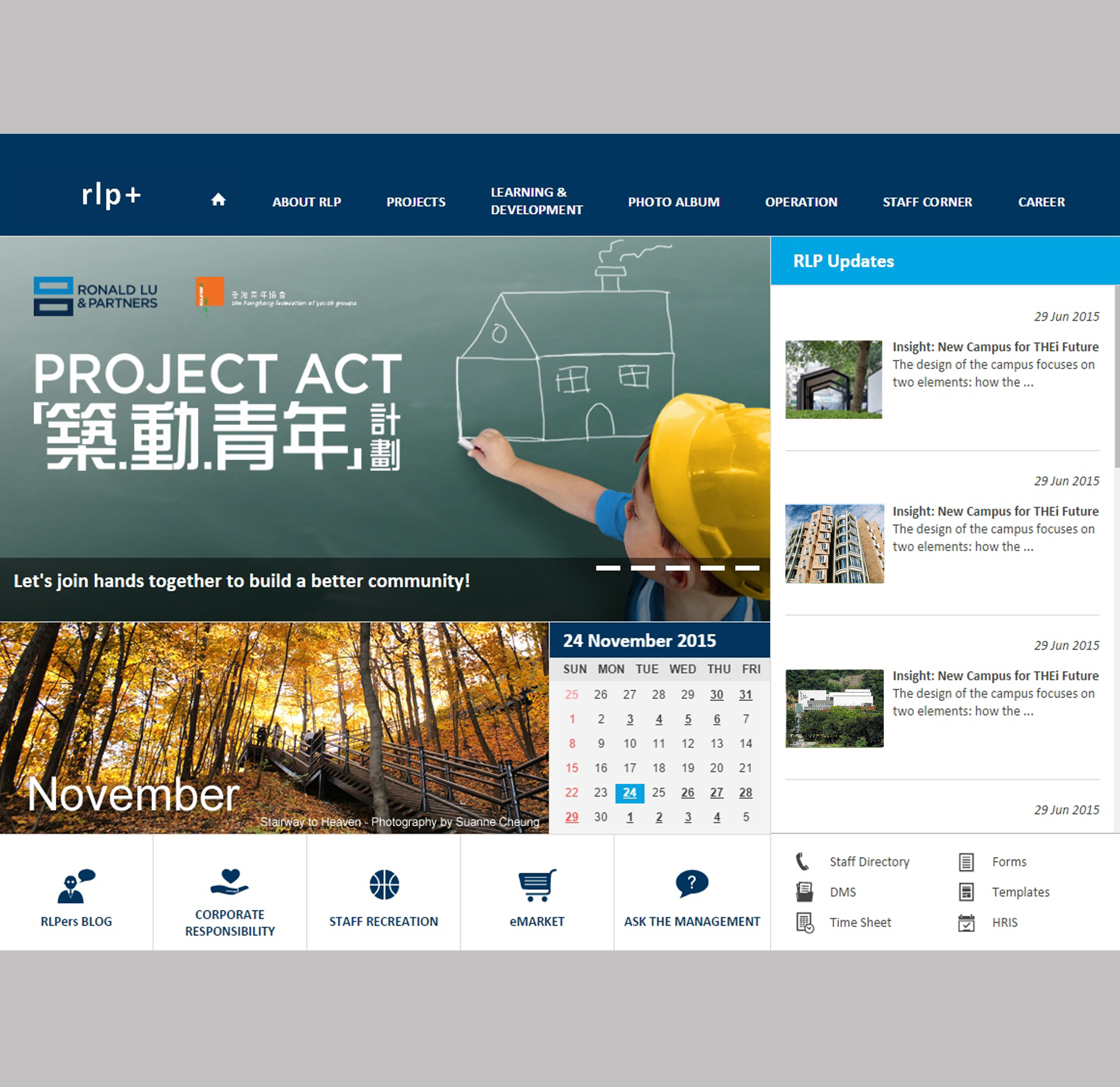 RLP Intranet