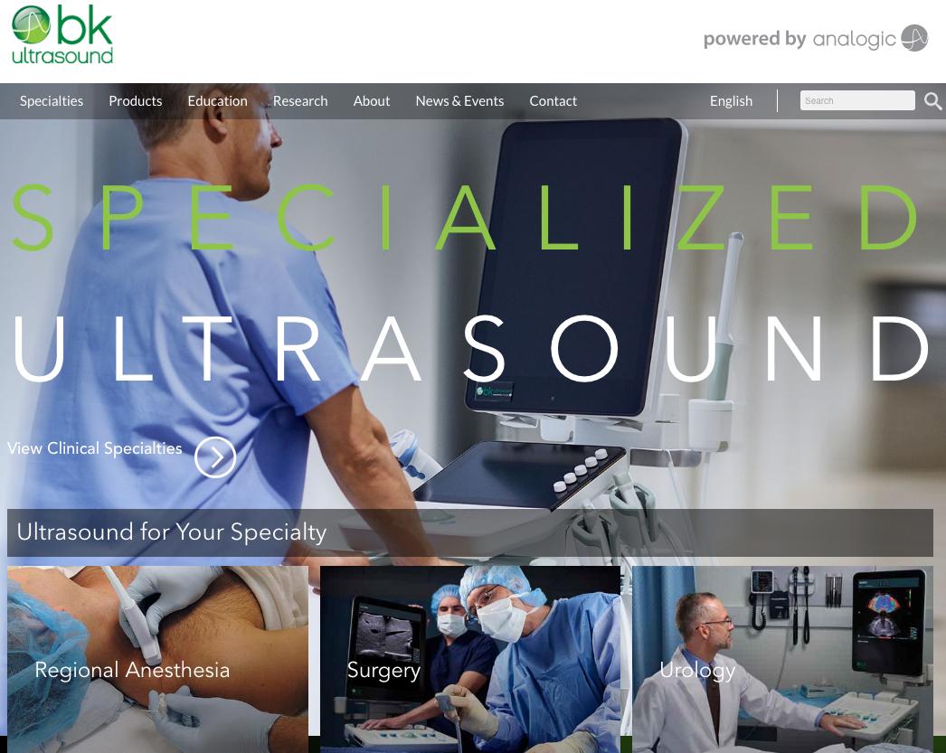BK Ultrasound image