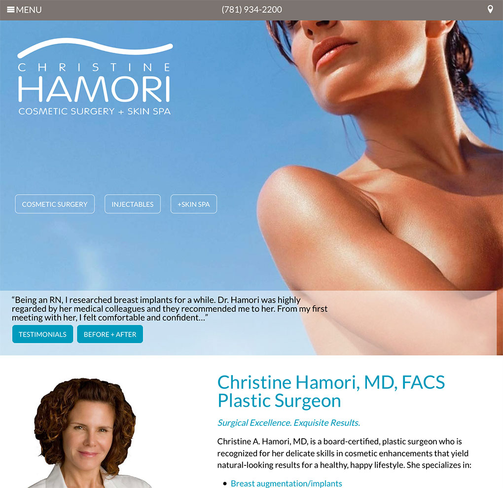 Christine Hamori Cosmetic Surgery + Skin Spa image