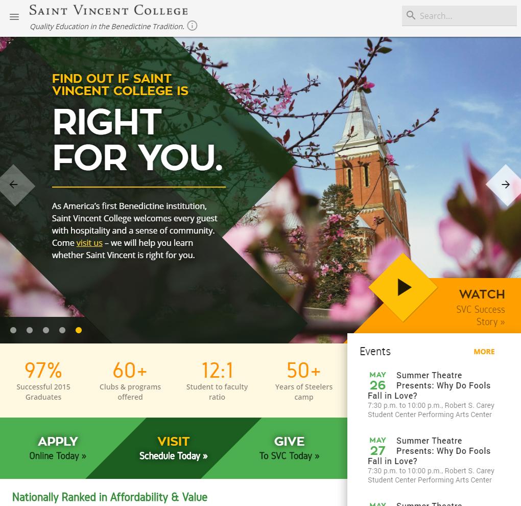 Saint Vincent College image