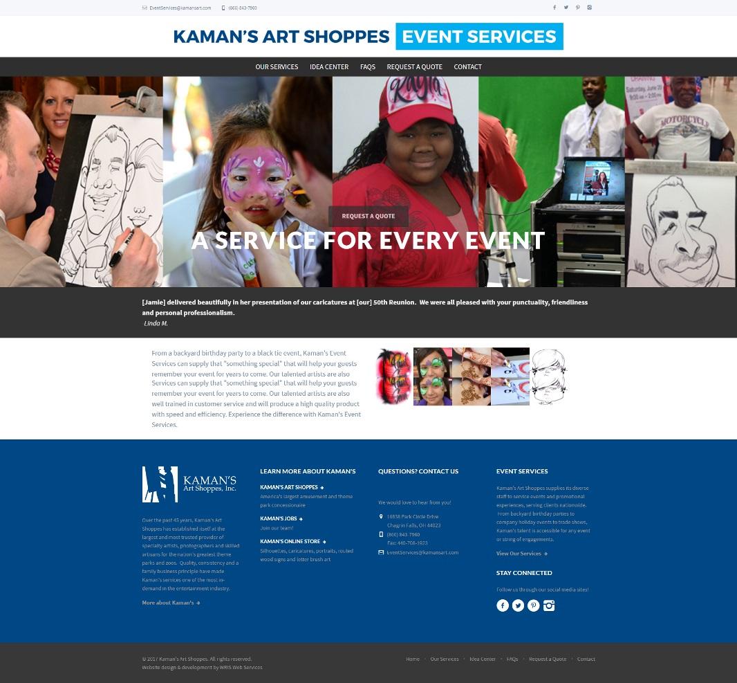Kaman's Art Shoppes - Event Services image