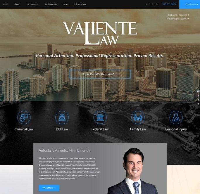 Valiente Law image
