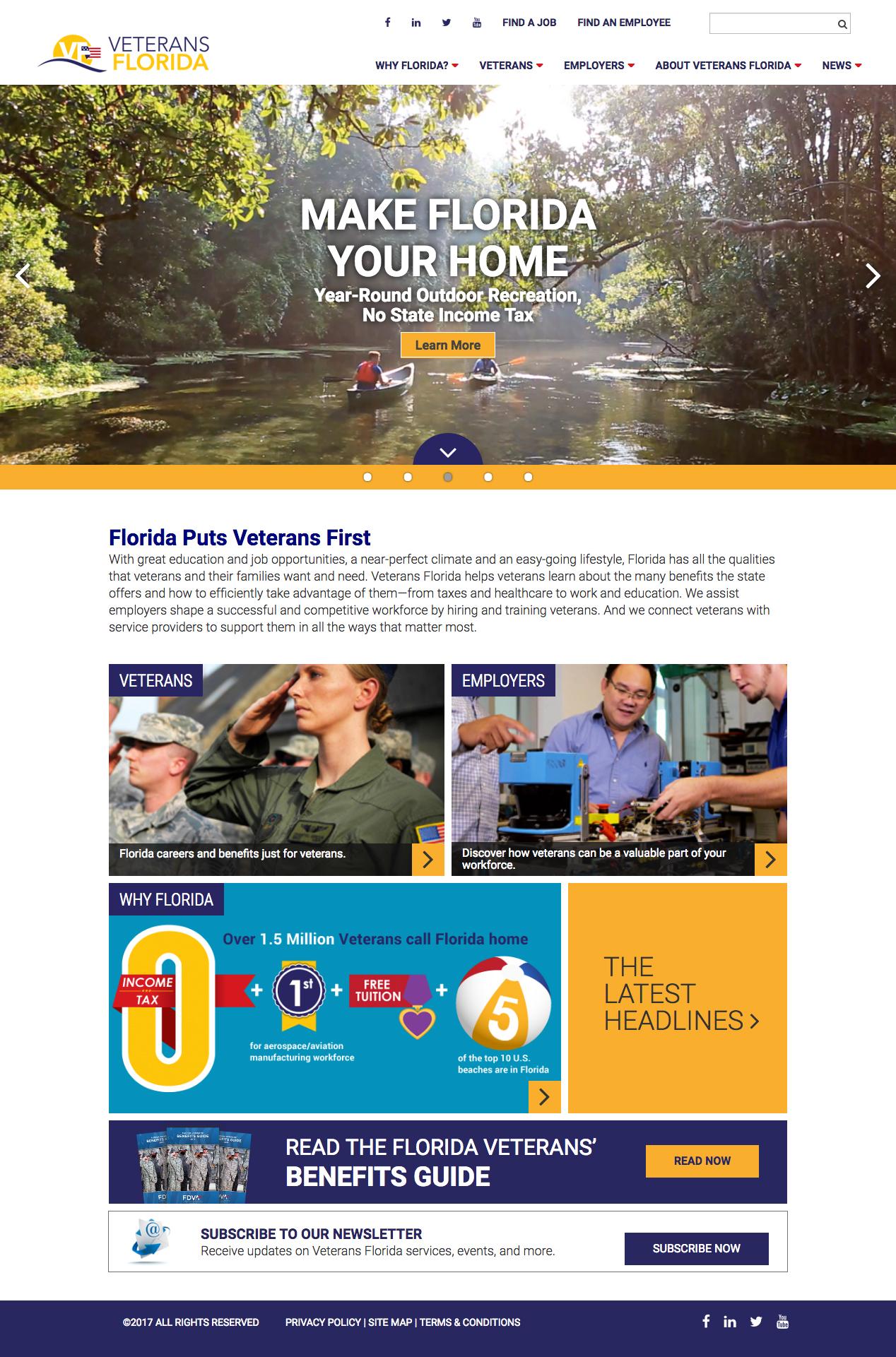 Veterans Florida, Florida Works for Veterans image