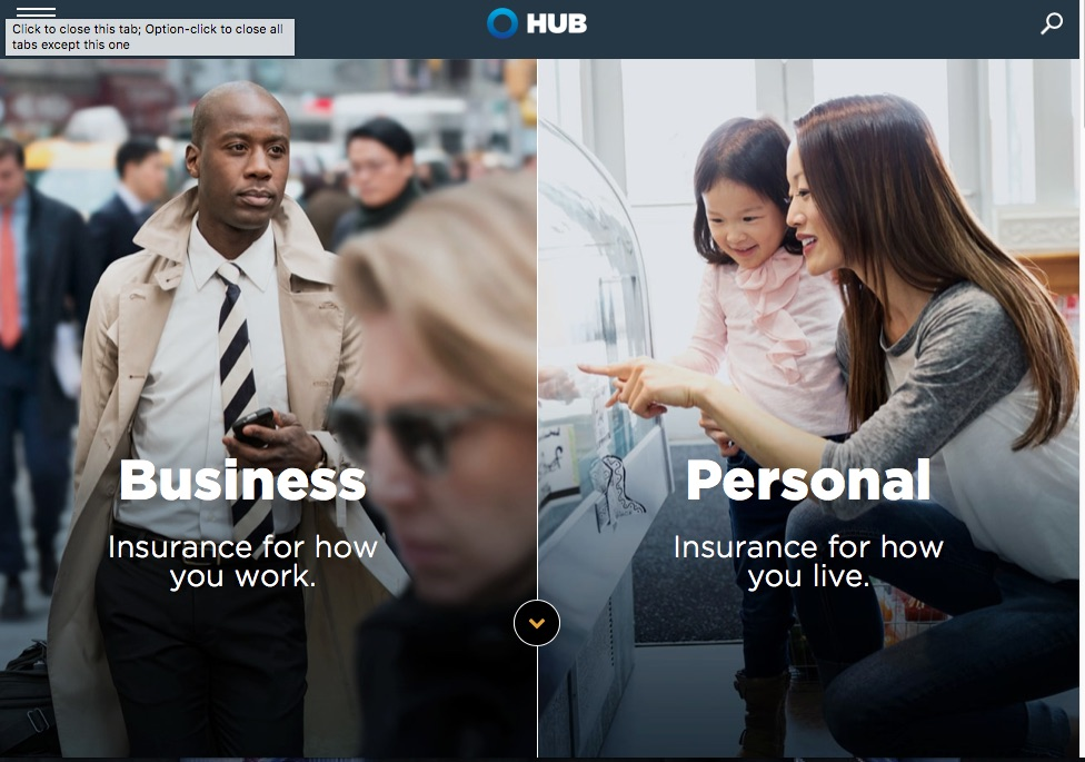 HUBInternational.com Drives Digital Insurance Experience and Amplifies New Brand  image