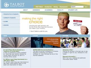 Talbot School of Theology Website image