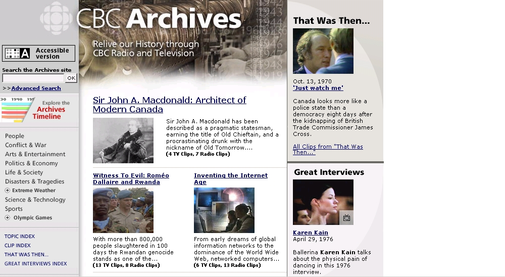 CBC Digital Archives - Les Archives de Radio-Canada image