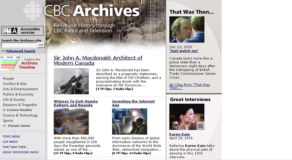 CBC Digital Archives - Les Archives de Radio-Canada image