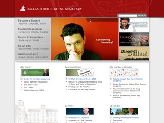 Dallas Theological Seminary Website image