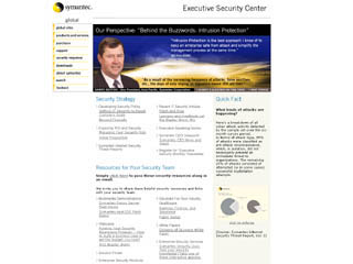 Symantec Executive Security Center image