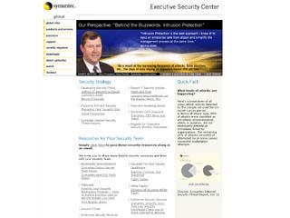 Symantec Executive Security Center image