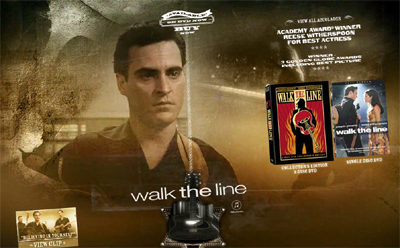 Walk the Line DVD Offiical Website image