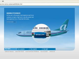 AirTran e-Annual image