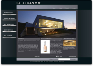 Website Vinery Leo Hillinger image