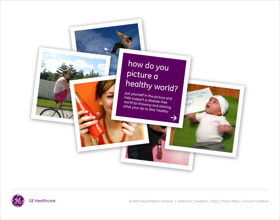 GE's Picture a Healthy World image