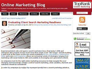 Online Marketing Blog image