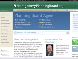 Montgomery County Park and Planning Commission image