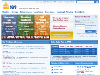 SAFE credit union image